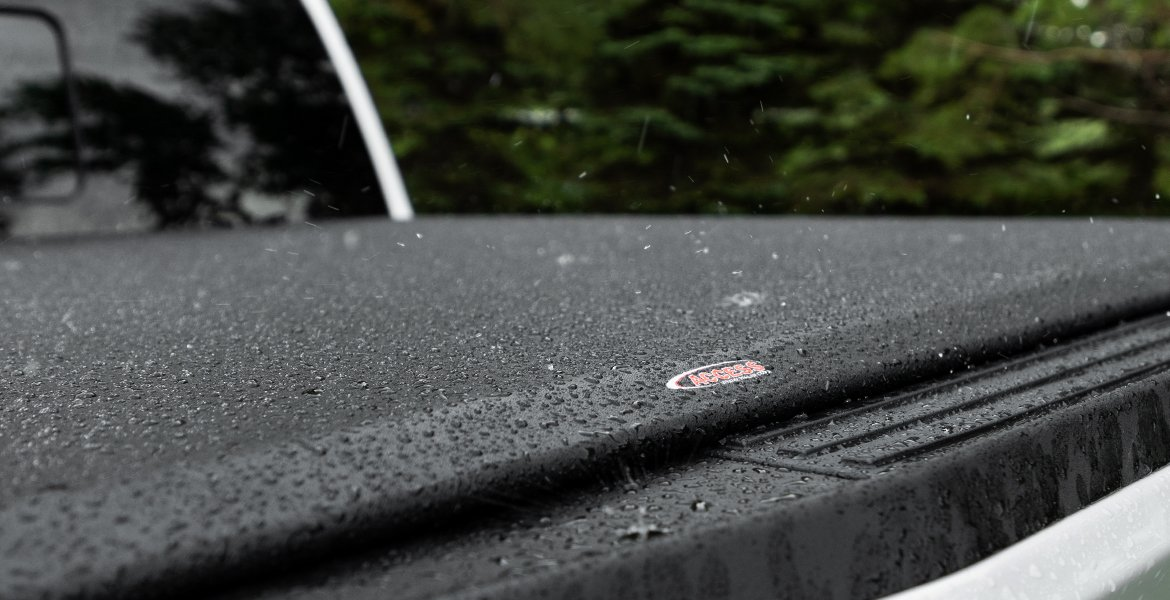 Rain Tonneau Cover Closeup