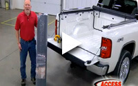 ACCESS Truck Bed Mat Installation